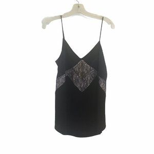 Express Spaghetti Strap  Lace Inset top